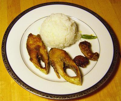 Rice And Ilish