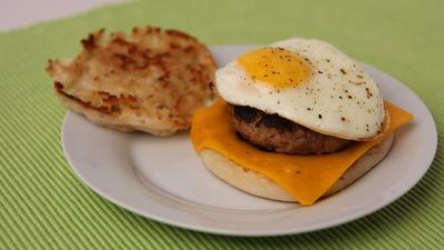 Sausage And Egg Sandwich